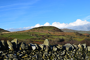 Pen-y-Gaer from the Porth Llwyd Valley